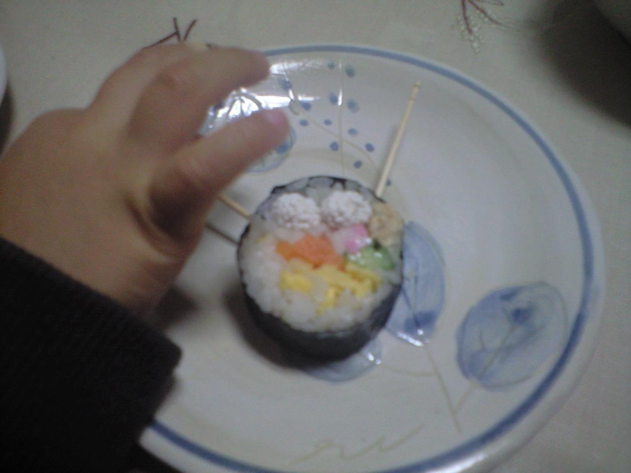恵方巻き寿司